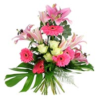 Captivating Supernova Pink Floral Arrangement
