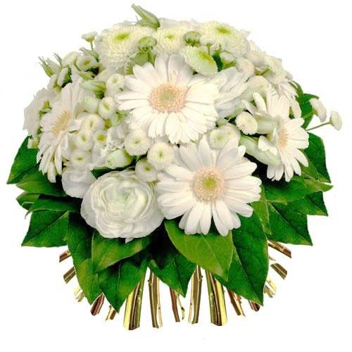 Graceful Bouquet of White Flowers