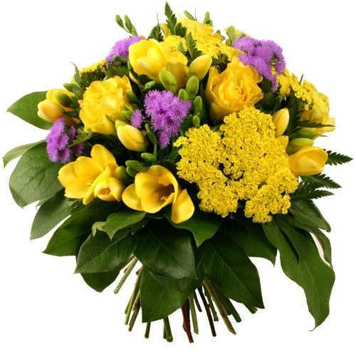 Aromatic Bouquet of Mixed Flowers