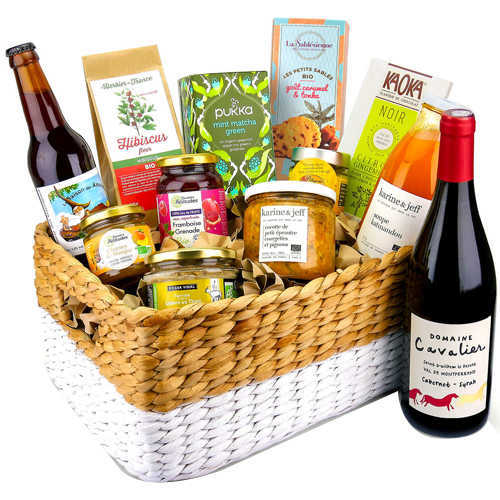Vibrant Come Together Gift Basket of Assortments